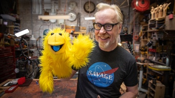 Adam Savage's One Day Builds: Monster Puppet Kit!
