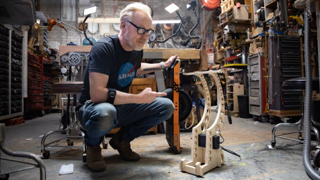 Adam Savage's One Day Builds: OneWheel Electric Skateboard Mods!