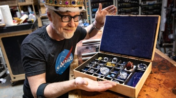 Adam Savage's One Day Builds: Famous Gemstones Collection!