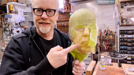 Adam Savage's One Day Builds: Epoxy Headcast Helmet Skullcap…