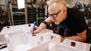 Adam Savage's One Day Builds: Foamcore Architectural Model!
