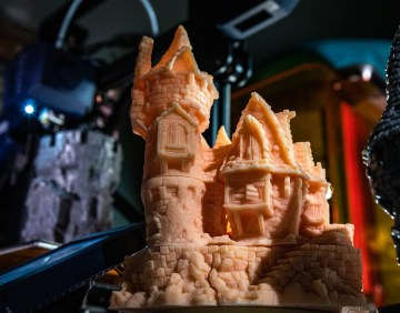 3D Printing Hagglethorn Hollow Tabletop Miniatures!