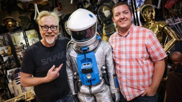Show and Tell: Adam Savage's 2001: A Space Odyssey Space Suit!