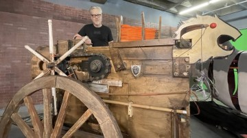 MythBusters' Largest Weapon of War