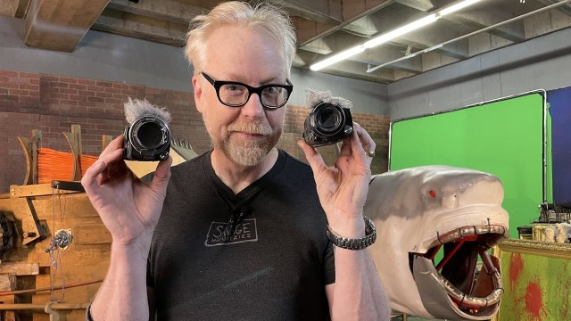 MythBusters: Where Cameras Went to Die