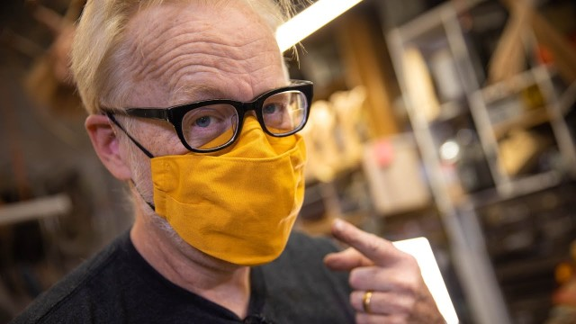 Adam Savage: How I Wear My Face Mask