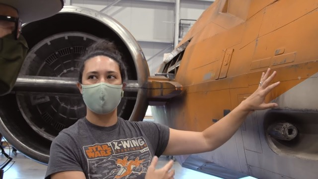 Conserving the X-Wing at Smithsonian