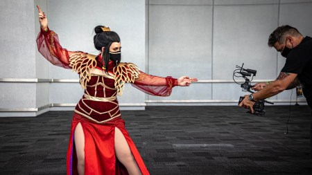 Azula from Avatar Cosplay at New York Comic Con!