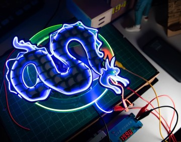 How To Use Flexible LED Filament Wire for Lighting Projects!