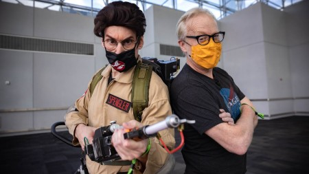 Puppet Master Rick Lyon's Ghostbusters Cosplay at New York C…